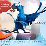 Đặt mua vé máy bay giá rẻ Vietnam Airlines, Vietjet, Jetstar Uy Tín Nhất TPHCM