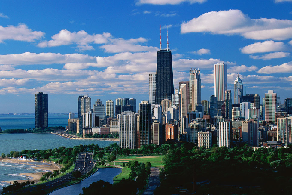 ve may bay di chicago