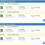 Đặt vé máy bay đi Los Angeles giá rẻ 699 USD cực hấp dẫn