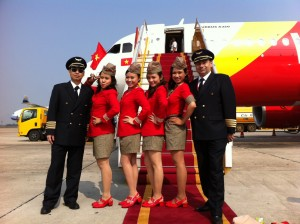 ve may bay Vietjet Air