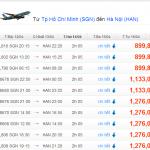 Vé máy bay TPHCM đi Hà Nội giá rẻ cùng Jetstar