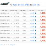 Vé máy bay Sài Gòn đi Vinh giá rẻ 2014