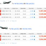 Vé máy bay Hà Nội đi Đà Lạt giá rẻ nhất