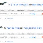 Vé máy bay từ TPHCM đi Rạch Giá – Kiên Giang
