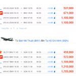 Vé máy bay TPHCM đi Buôn Ma Thuột giá rẻ mùa hè 2014