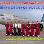 Phòng vé máy bay giá rẻ tại chợ Thanh Đa Bình Thạnh