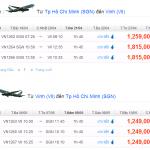 Vé máy bay khuyến mãi đi Vinh giá 999.000 VNĐ