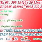 Vé máy bay tết về Vinh năm 2015