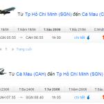 Vé máy bay khuyến mãi đi Cà Mau tháng 6