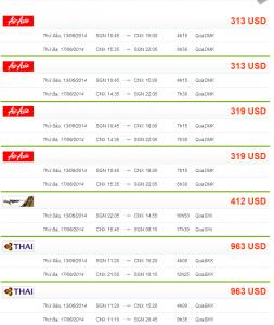 vé máy bay đi Chiang Mai
