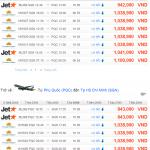 Vé máy bay khuyến mãi đi Phú Quốc giá rẻ