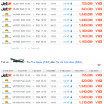 Vé máy bay từ TPHCM đi Phú Quốc giá rẻ