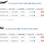 Vé máy bay khuyến mãi đi Đà Lạt chỉ 599.000 VNĐ