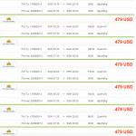 Vé máy bay giá rẻ đi Cao Hùng