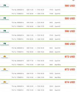 Vé máy bay đi Busan giá rẻ