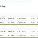 Vé máy bay Sài Gòn đi Melbourne giá rẻ