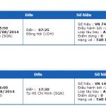 Vé máy bay Vietnam Airlines đi Đồng Hới tháng 8