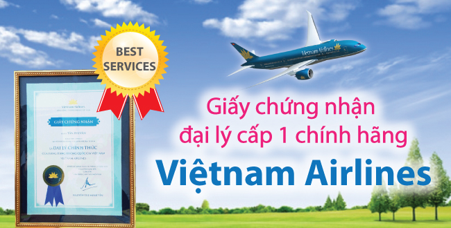 ve may bay vietnam airlines, ve may bay gia re vietnam airlines
