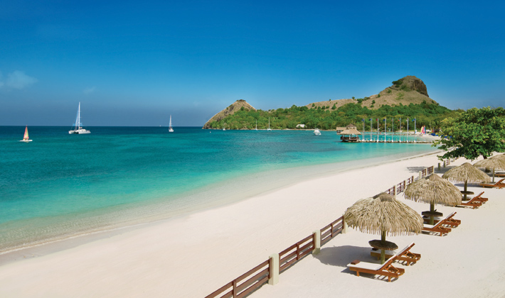 ve may bay di saint lucia