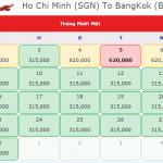 Vé máy bay đi Bangkok Thái Lan giá rẻ