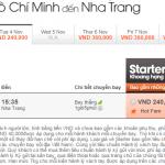 Vé máy bay đi Nha Trang giá 240k Jetstar
