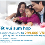 Khuyến mãi Tết vui sum họp Vietnam Airlines 2016