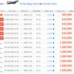 Vé máy bay từ Đà Nẵng đi Hà Nội giá rẻ