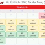 Vé máy bay đi Nha Trang giá 199K của Vietjet Air