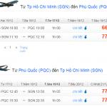 Vé máy bay Jetstar đi Phú Quốc giá 290.000 VNĐ