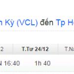 Vé máy bay từ Tam Kỳ đi TPHCM