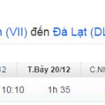 Vé máy bay từ Vinh đi Đà Lạt