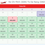 Vé máy bay đi Đà Nẵng tháng 1 giá rẻ