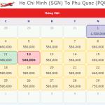 Vé máy bay đi Phú Quốc tháng 1