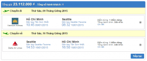 vé máy bay đi Seattle giá rẻ