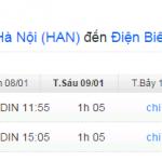 Vé máy bay từ Hà Nội đi Điện Biên