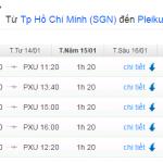 Vé máy bay từ TPHCM đi Pleiku