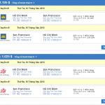 Vé máy bay đi San Francisco giá chỉ từ 500 USD