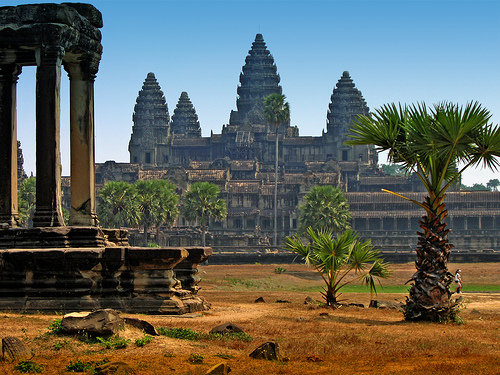 ve may bay di seim reap