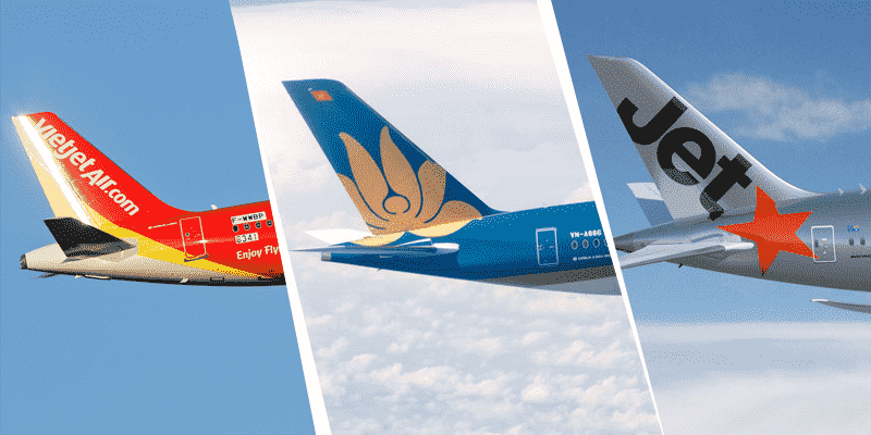 vé máy bay tết nội địa