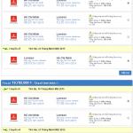 giá vé máy bay từ TPHCM đi London hãng Emirates