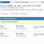 Vé máy bay từ Hà Nội đi Nha Trang giá rẻ nhất chỉ 800K