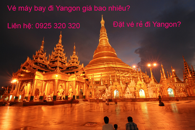 ve may bay di yangon