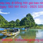 Vé máy bay đi Đồng Hới Quảng Bình giá bao nhiêu?