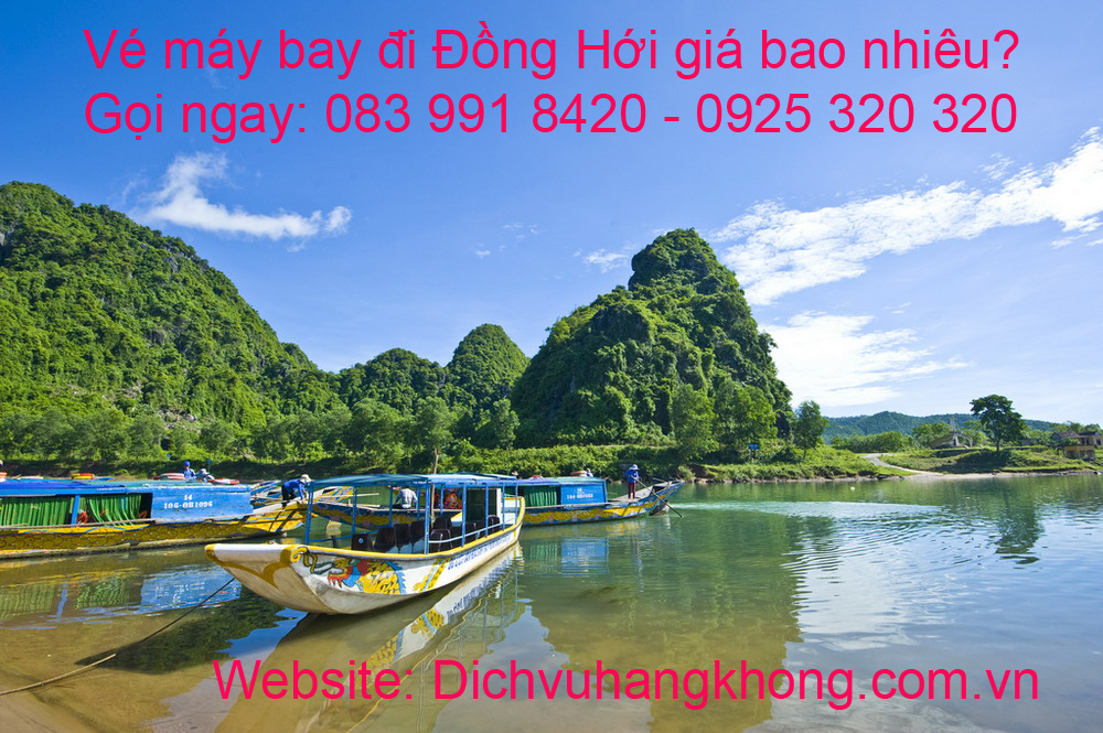 ve may bay di dong hoi gia re