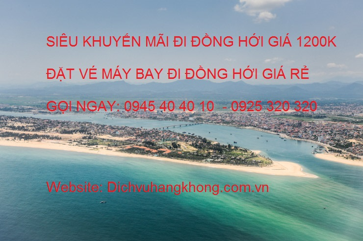 ve may bay di dong hoi