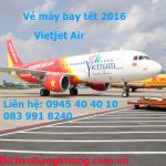 Đặt mua vé máy bay tết 2016 giá rẻ hãng Vietjet Air
