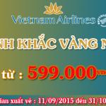 Khuyến mãi khoảnh khắc vàng nội địa Vietnam Airlines