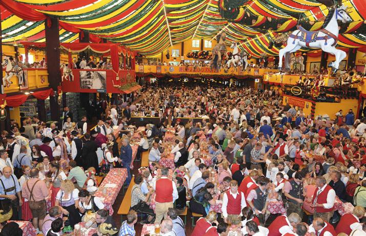 lễ hội bia đức