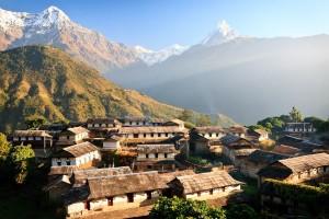 ve may bay gia re di nepal
