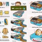 Cách đóng gói hành lý đi máy bay được nhiều nhất